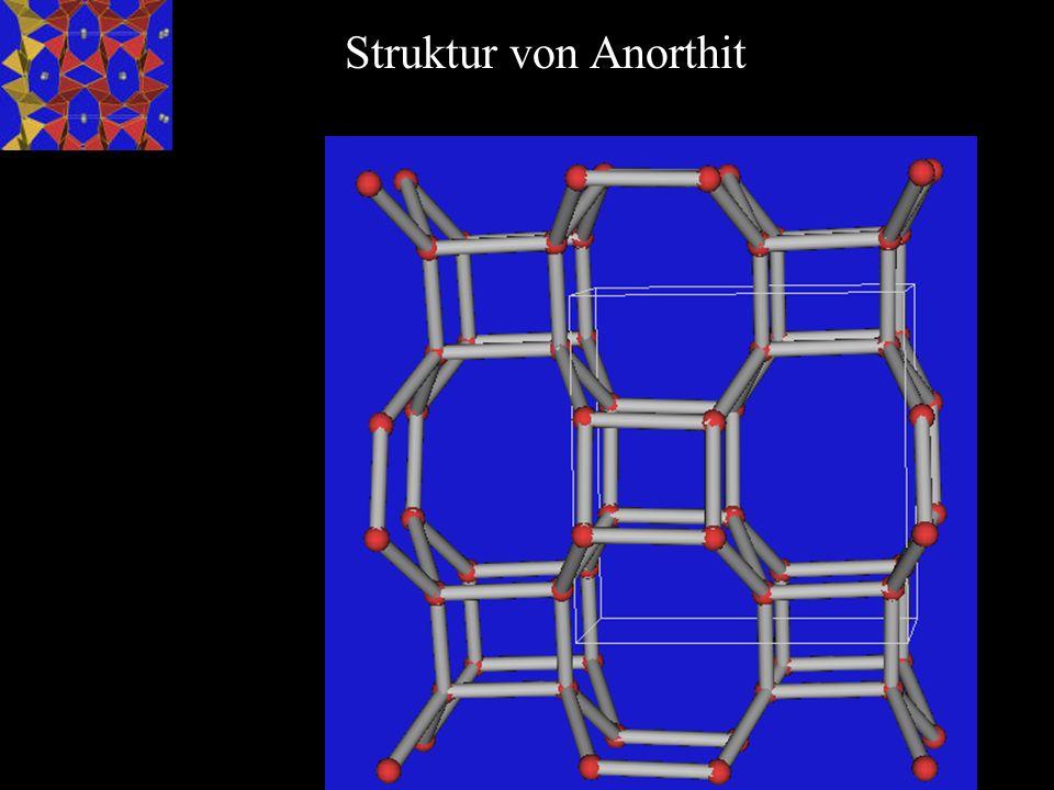 Struktur von Anorthit