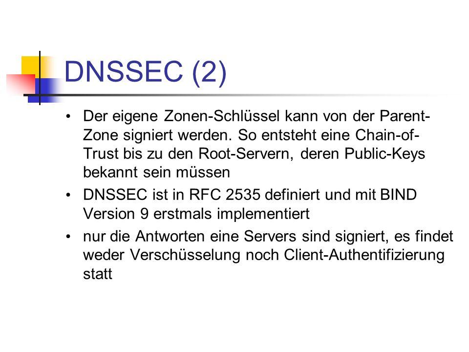 DNSSEC (2)