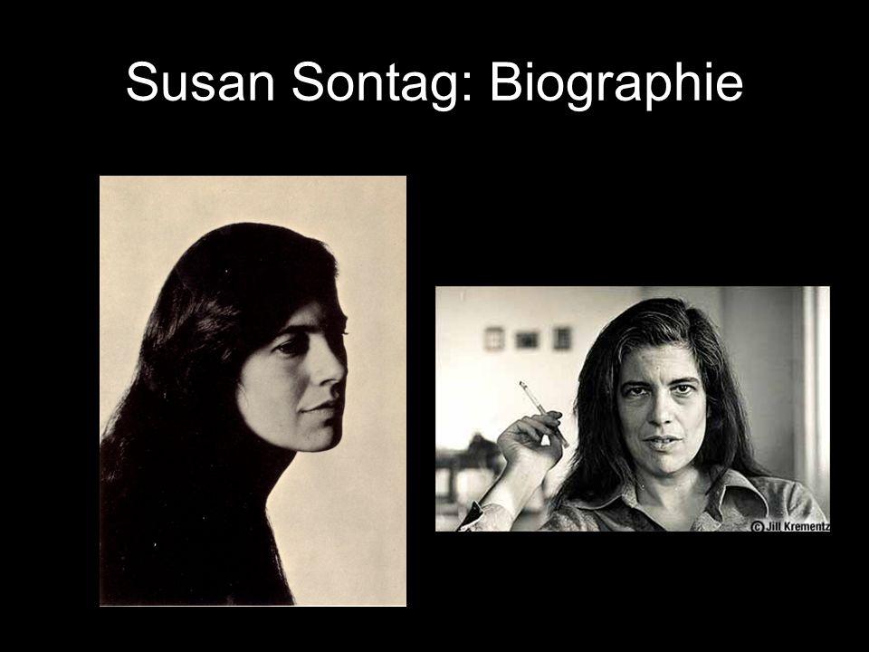 Susan Sontag: Biographie