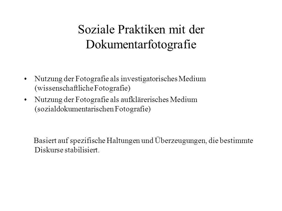 Soziale Praktiken mit der Dokumentarfotografie
