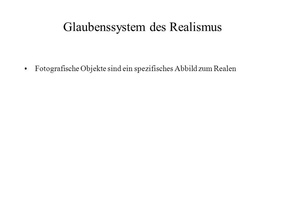 Glaubenssystem des Realismus