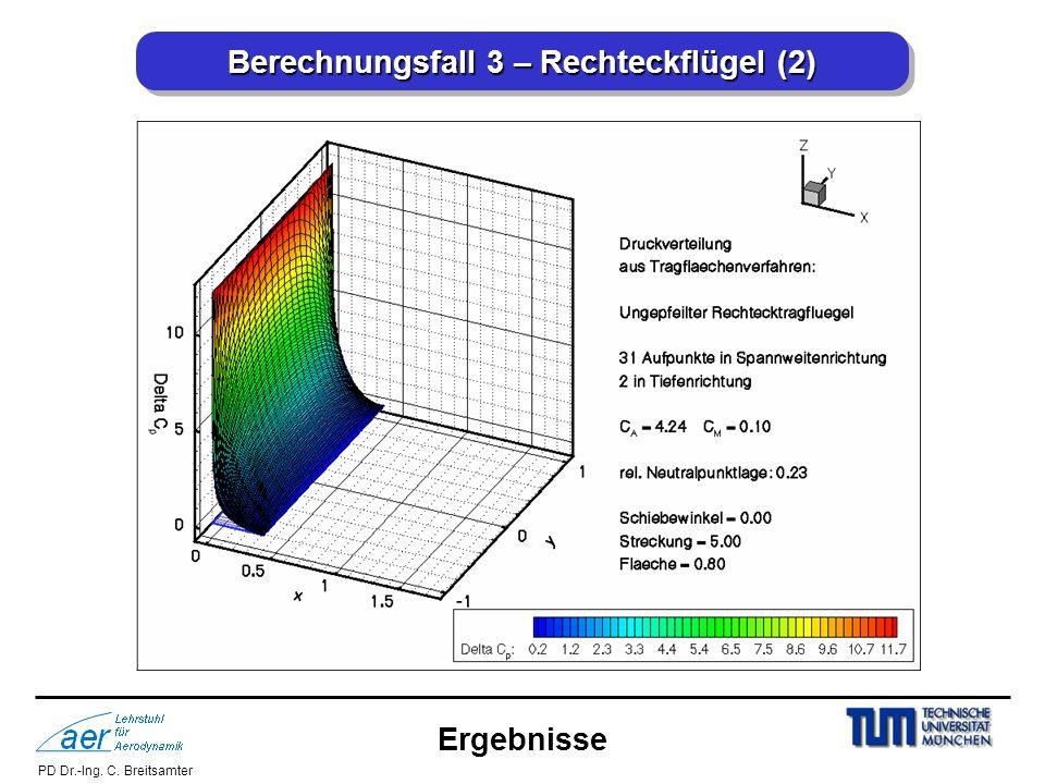 Berechnungsfall 3 – Rechteckflügel (2)