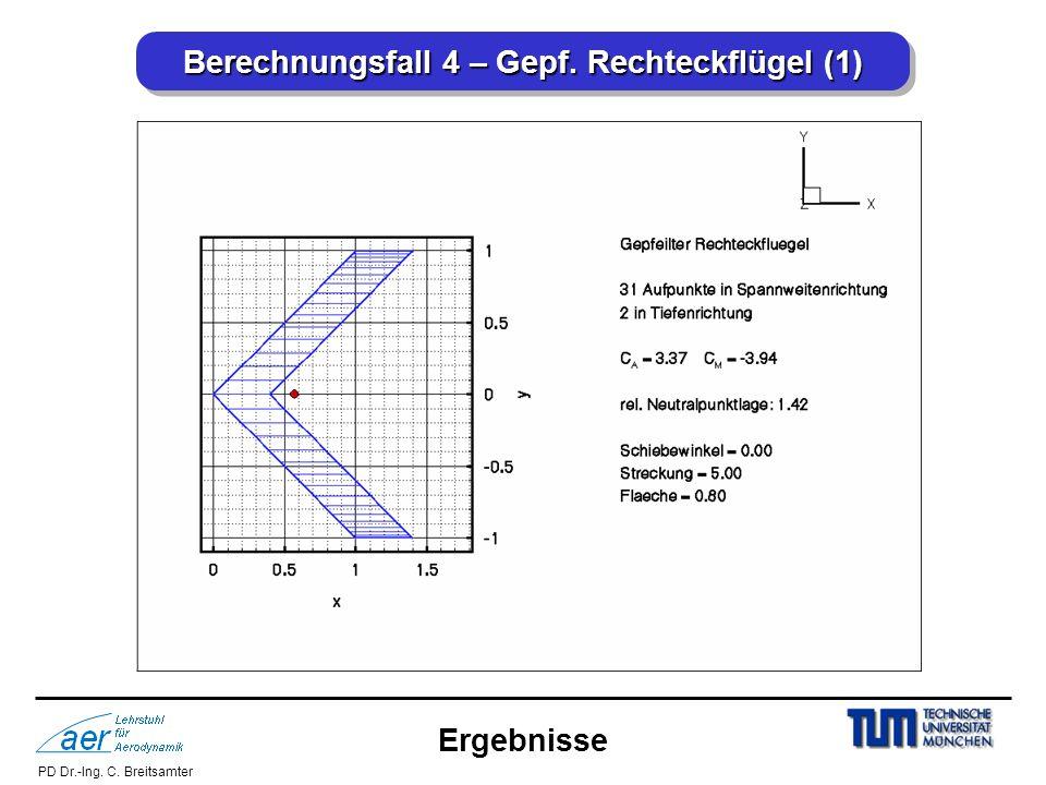 Berechnungsfall 4 – Gepf. Rechteckflügel (1)