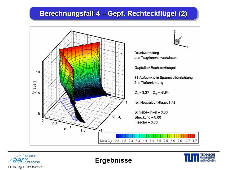 Berechnungsfall 4 – Gepf. Rechteckflügel (2)