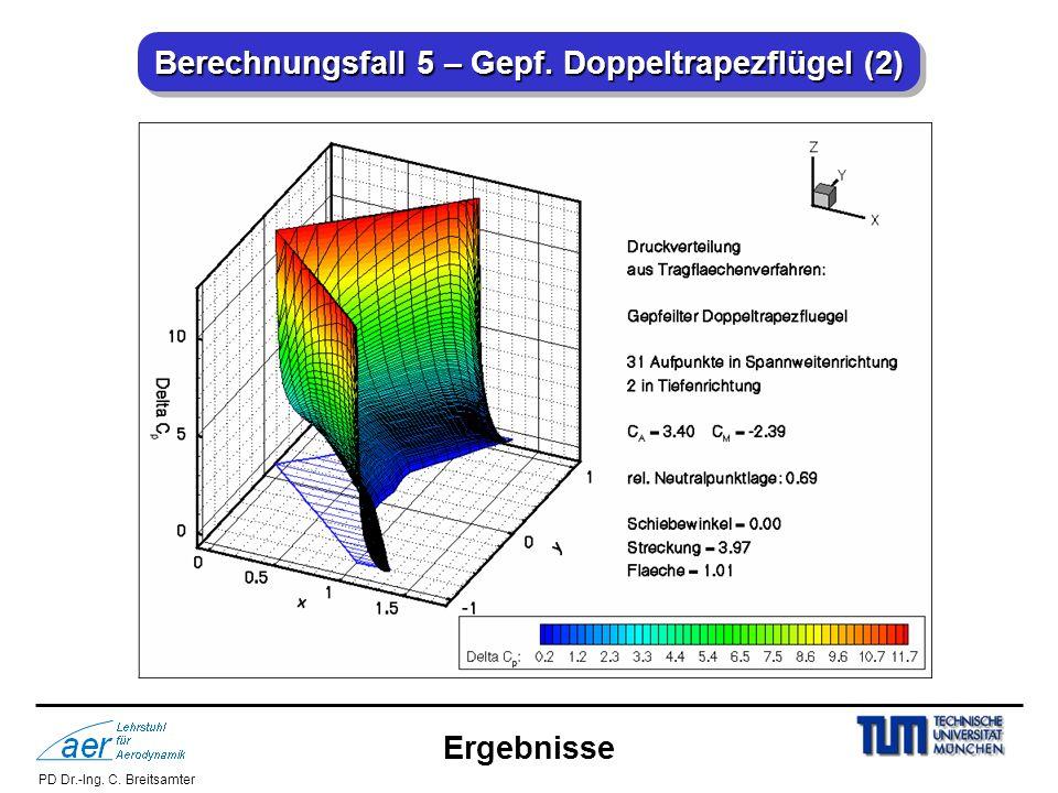 Berechnungsfall 5 – Gepf. Doppeltrapezflügel (2)