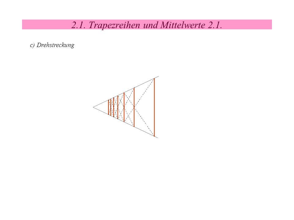 2.1. Trapezreihen und Mittelwerte 2.1.