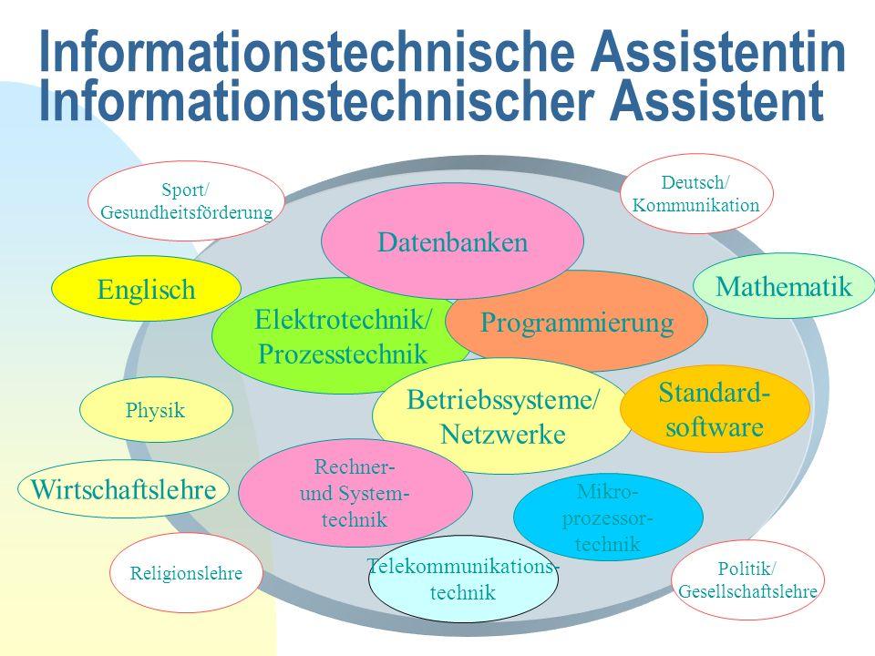 Informationstechnische Assistentin Informationstechnischer Assistent