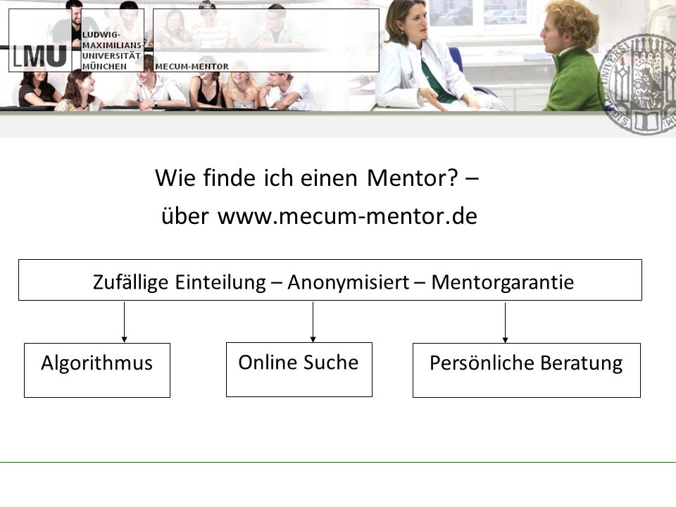 Wie finde ich einen Mentor – über www.mecum-mentor.de