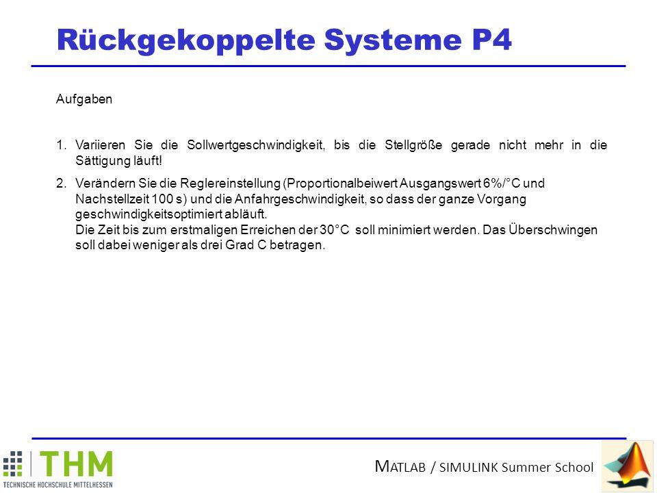 Rückgekoppelte Systeme P4