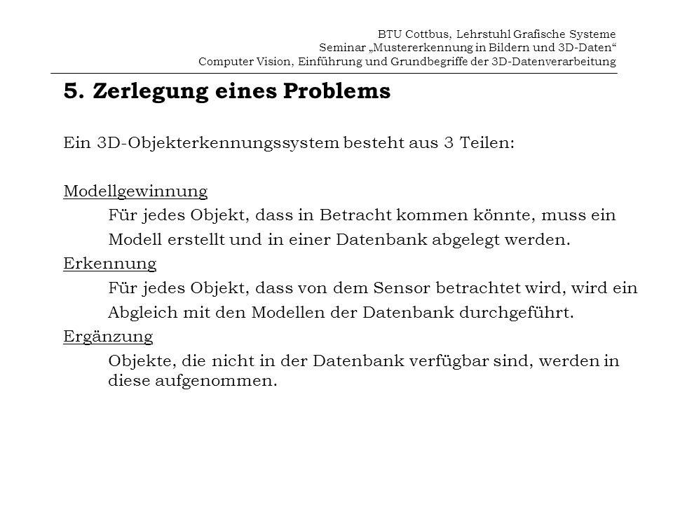 5. Zerlegung eines Problems