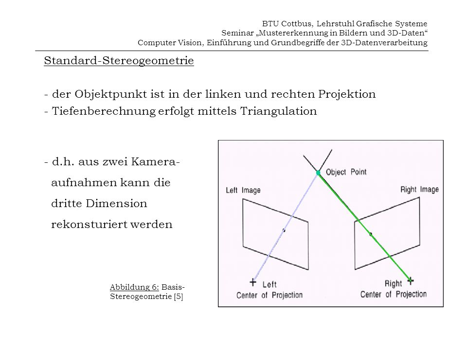 Standard-Stereogeometrie
