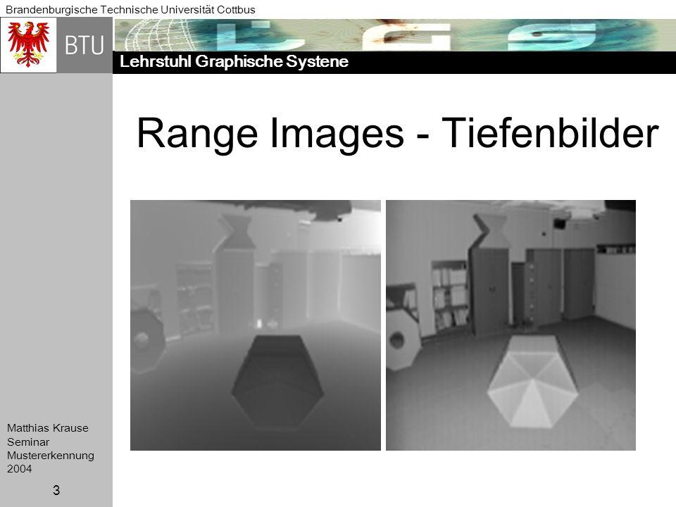 Range Images - Tiefenbilder