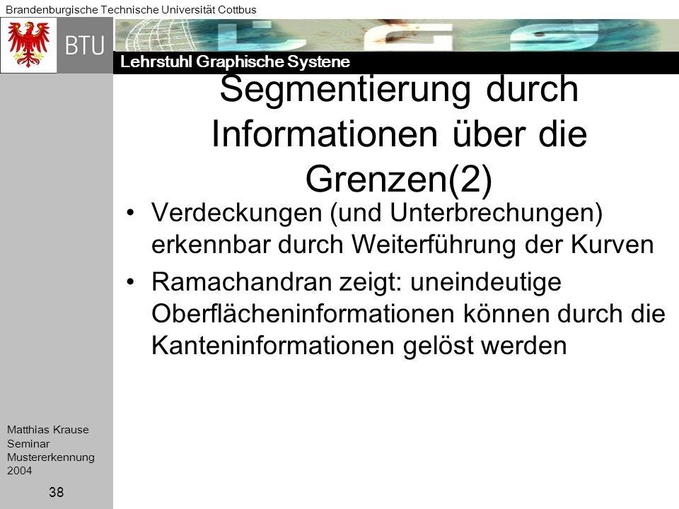 Segmentierung durch Informationen über die Grenzen(2)