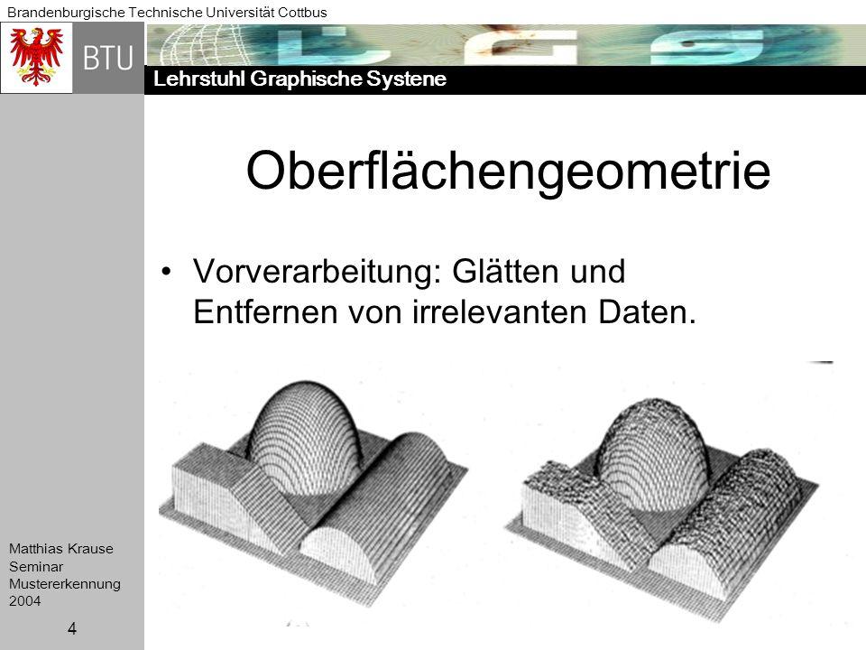 Oberflächengeometrie