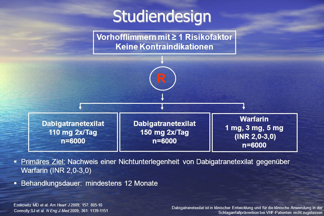 Vorhofflimmern mit ≥ 1 Risikofaktor Keine Kontraindikationen