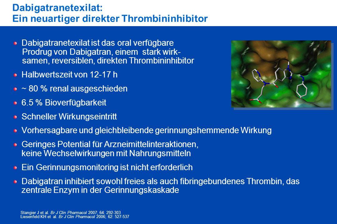 Dabigatranetexilat: Ein neuartiger direkter Thrombininhibitor