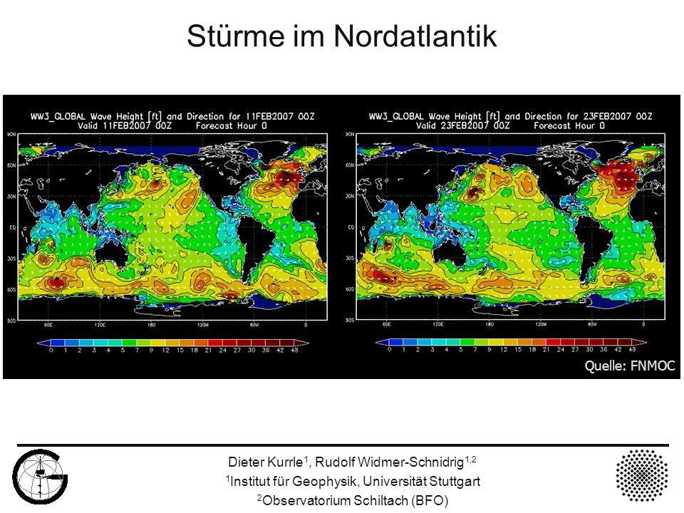 Stürme im Nordatlantik