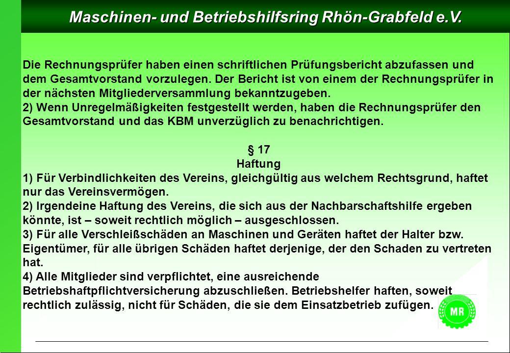 Maschinen- und Betriebshilfsring Rhön-Grabfeld e.V.