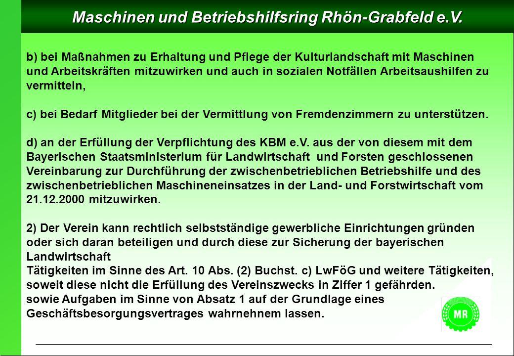 Maschinen und Betriebshilfsring Rhön-Grabfeld e.V.