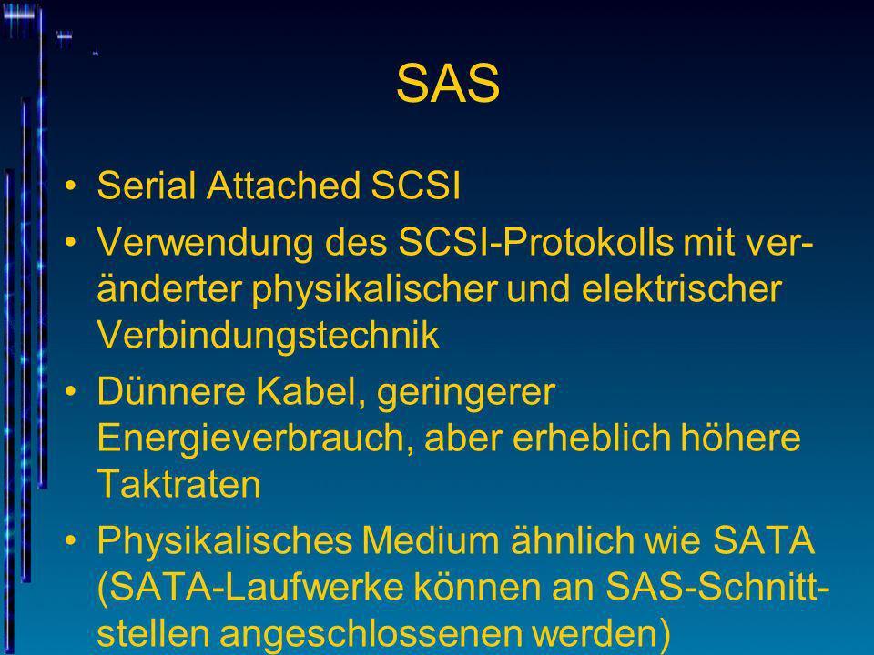 SAS Serial Attached SCSI