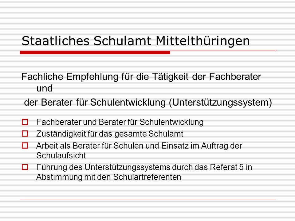 Staatliches Schulamt Mittelthüringen