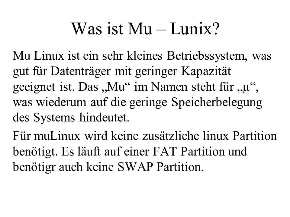 Was ist Mu – Lunix