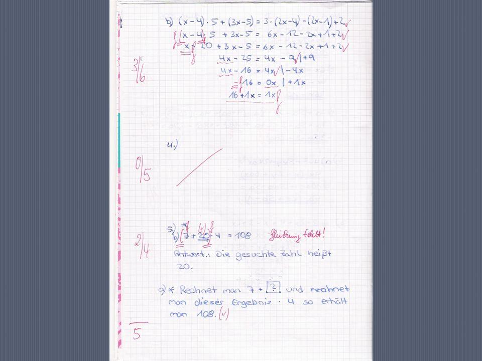 Diagnose und Evaluation von MU - Leistungsmessung