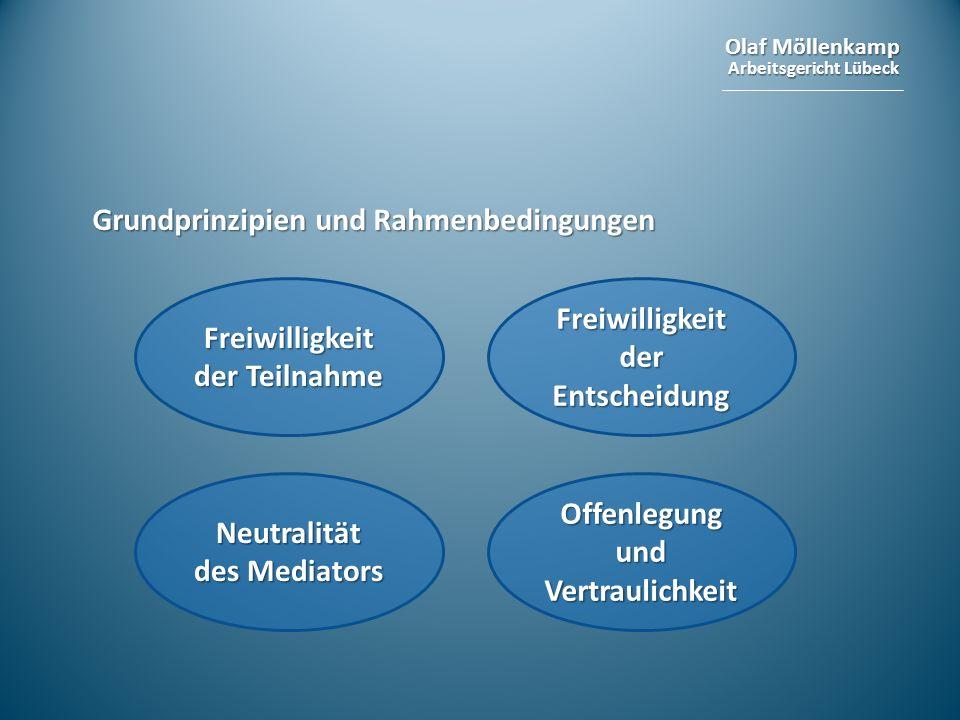 Grundprinzipien und Rahmenbedingungen