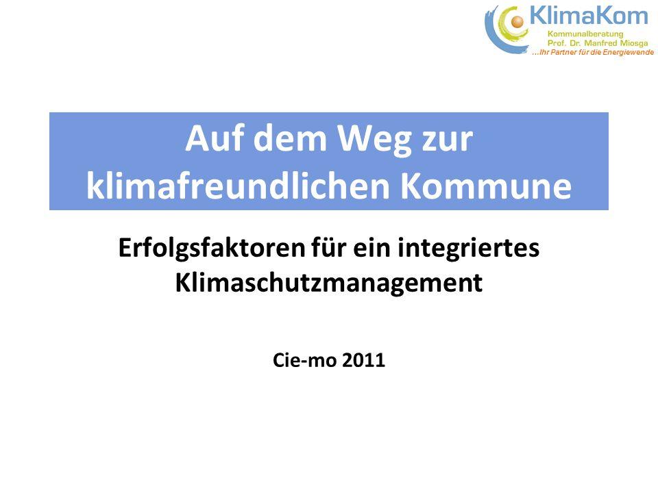 Auf dem Weg zur klimafreundlichen Kommune
