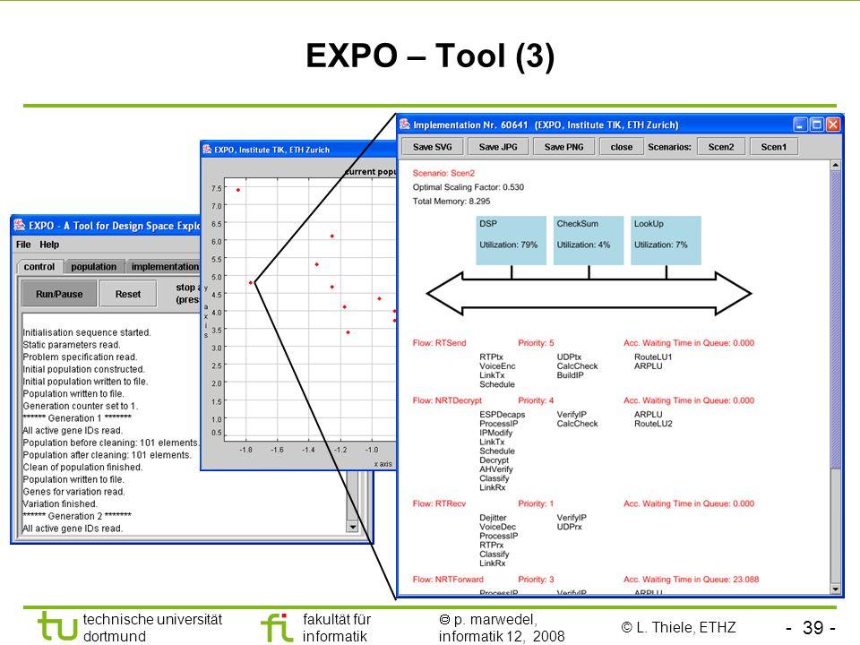 EXPO – Tool (3) © L. Thiele, ETHZ
