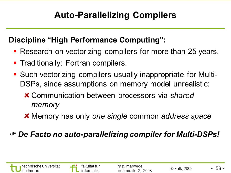 Auto-Parallelizing Compilers