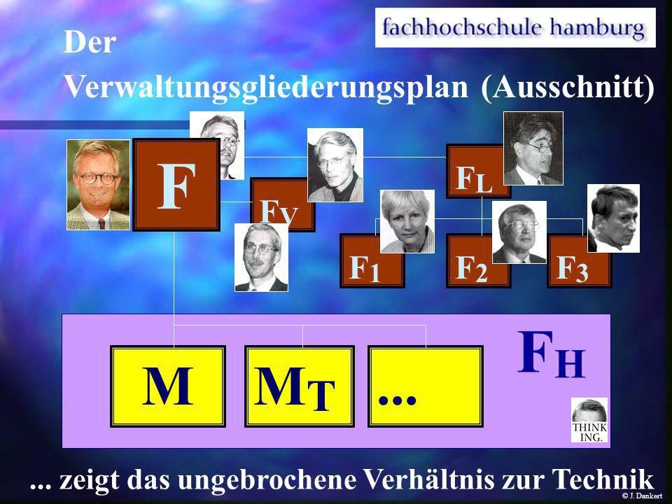 F FH M MT ... Der Verwaltungsgliederungsplan (Ausschnitt) FL FV F1 F2