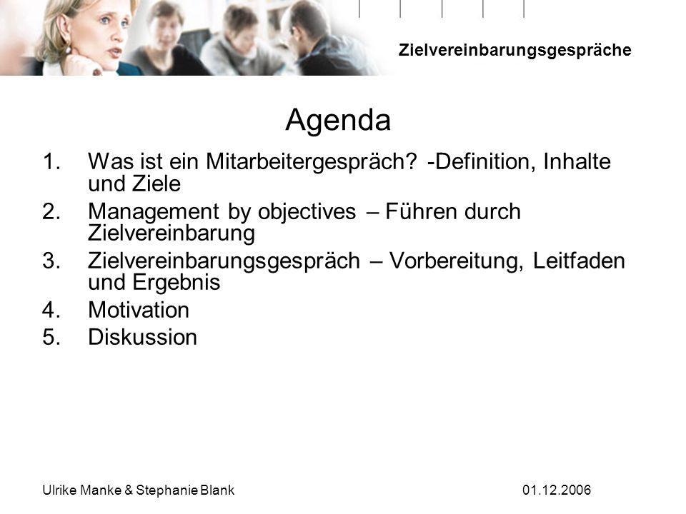 Agenda Was ist ein Mitarbeitergespräch -Definition, Inhalte und Ziele
