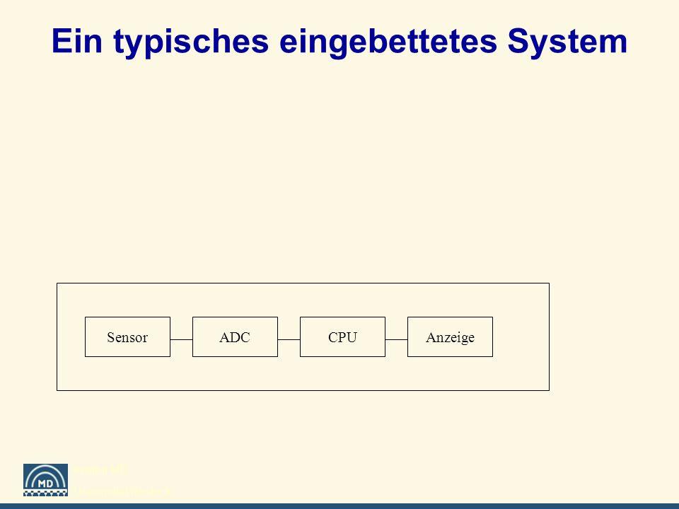 Ein typisches eingebettetes System