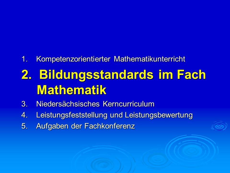 2. Bildungsstandards im Fach Mathematik