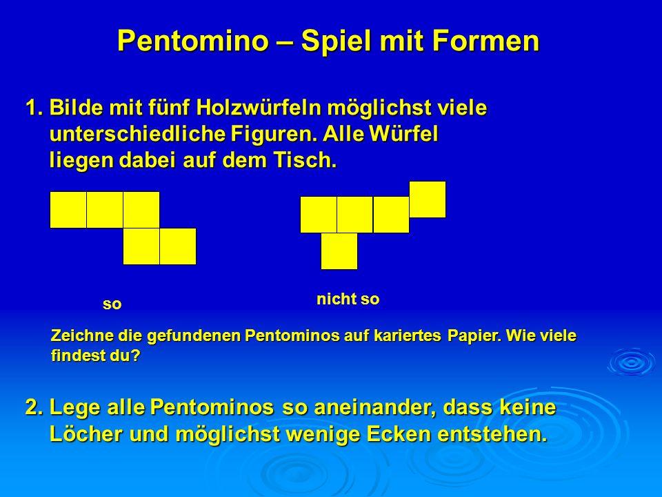Pentomino – Spiel mit Formen