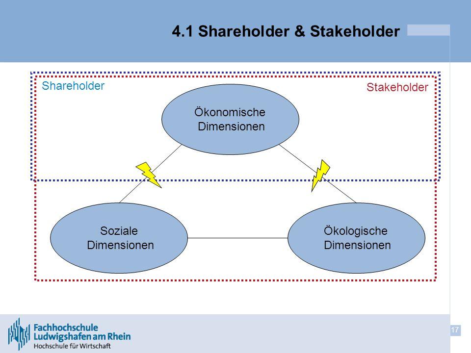4.1 Shareholder & Stakeholder