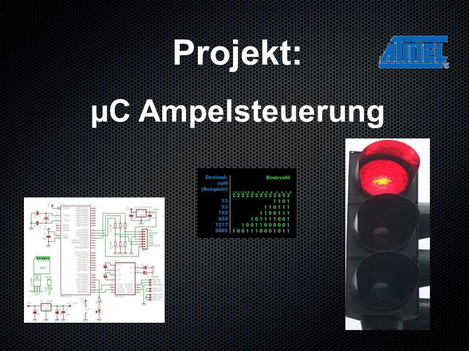 Projekt: µC Ampelsteuerung