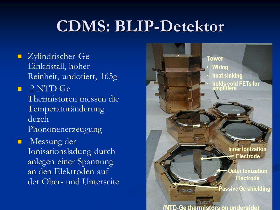 CDMS: BLIP-Detektor Zylindrischer Ge Einkristall, hoher Reinheit, undotiert, 165g.