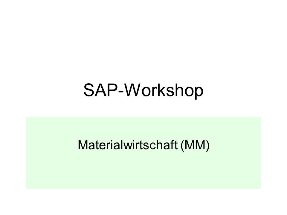 Materialwirtschaft (MM)