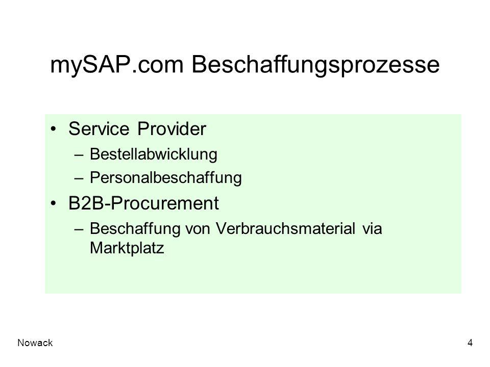 mySAP.com Beschaffungsprozesse
