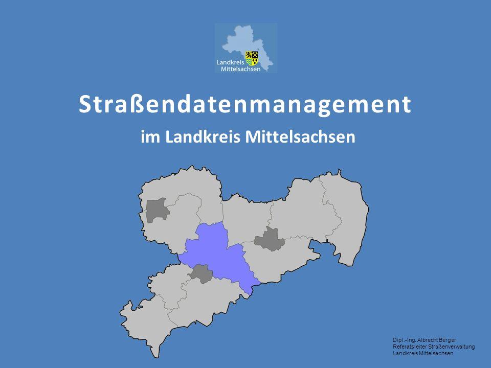 Straßendatenmanagement im Landkreis Mittelsachsen