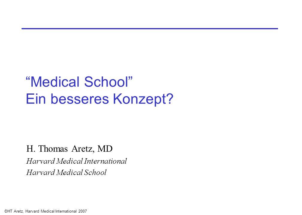 Medical School Ein besseres Konzept