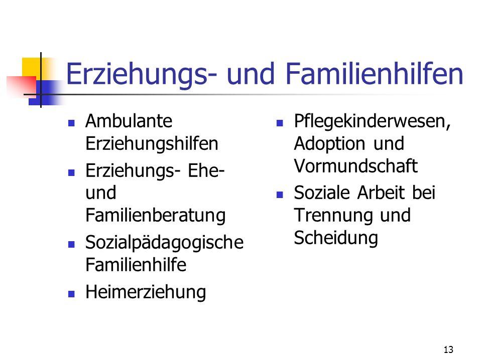 Erziehungs- und Familienhilfen