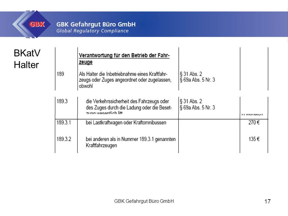 GBK Gefahrgut Büro GmbH