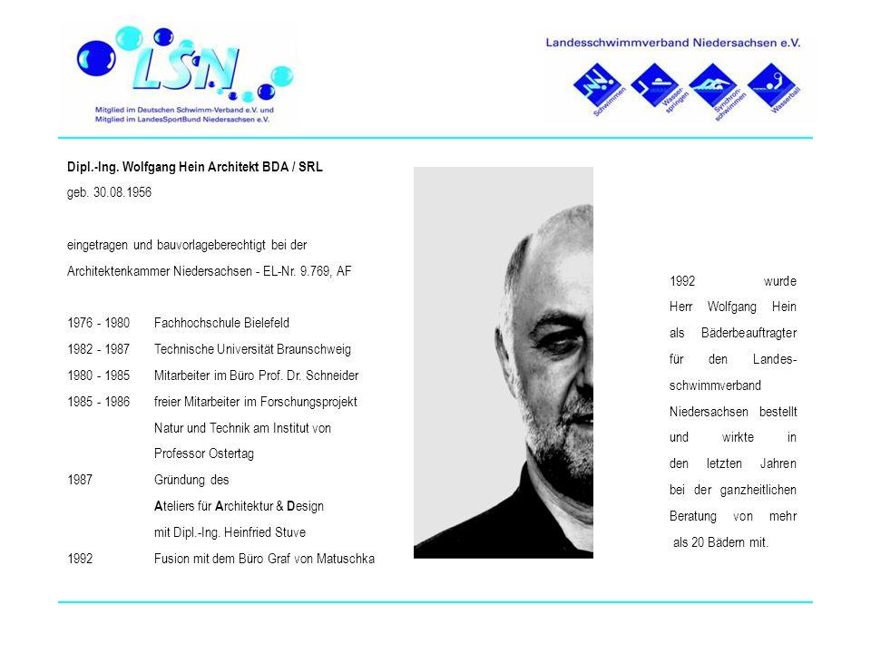 Dipl.-Ing. Wolfgang Hein Architekt BDA / SRL