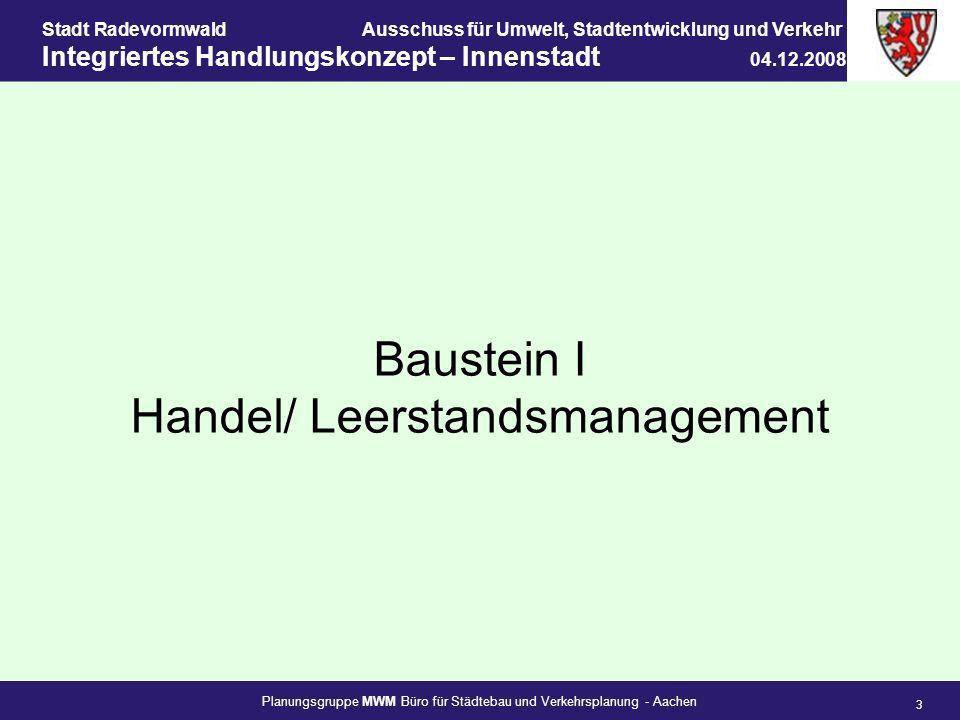 Handel/ Leerstandsmanagement
