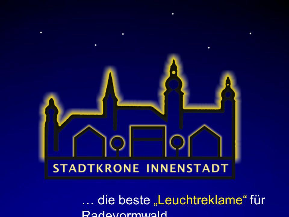 """… die beste """"Leuchtreklame für Radevormwald"""