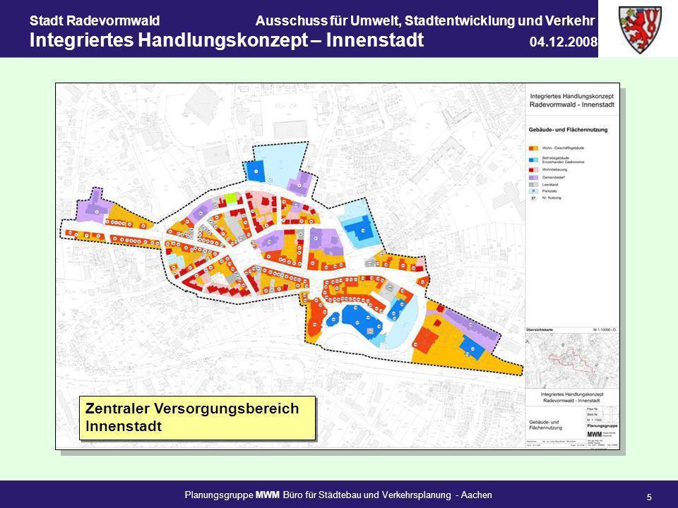 Zentraler Versorgungsbereich Innenstadt