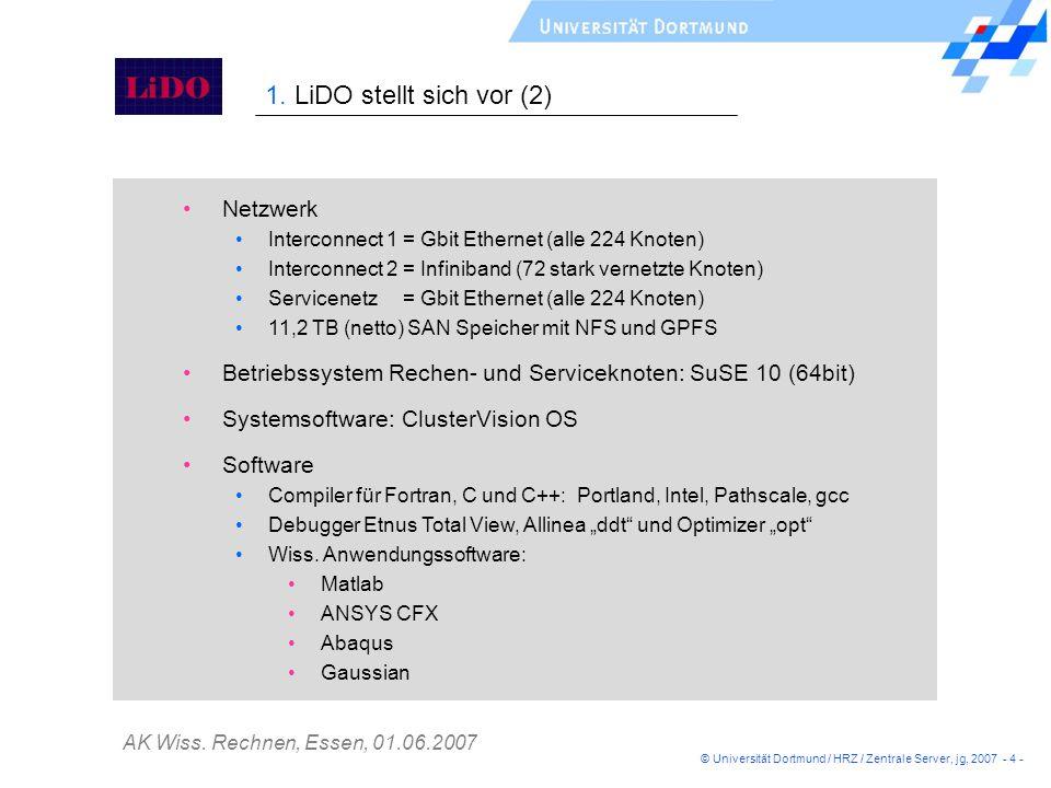 1. LiDO stellt sich vor (2) Netzwerk